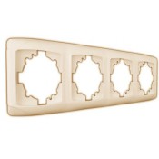 Рамка 4-я горизонтальная крем ViKO Carmen 90572104