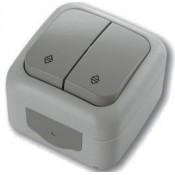 Выключатель 2-кл проходной ViKO Palmiye 90555517