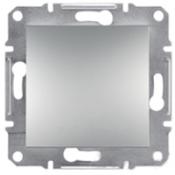 Выключатель 1кл. Shneider-Electric Asfora алюминий EPH0100161