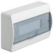 Щит наружной установки с клемами с прозрачной дверцей 12 м Hager Cocmos VD112TD