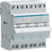 Переключатель перекидной (l-O-ll с центральным положением откл.4p 40А 380В) Hager SFT440